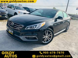 Used 2017 Hyundai Sonata 4DR SDN 2.0T AUTO SPORT ULTIMATE for sale in Mississauga, ON