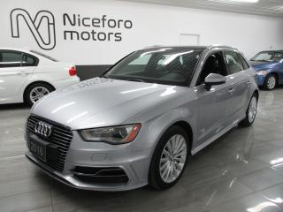 Used 2016 Audi A3 e-tron - LOW KM, NAVI, PLUG-IN - for sale in Oakville, ON