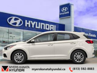 New 2020 Hyundai Accent Preferred IVT  - $129 B/W for sale in Kanata, ON