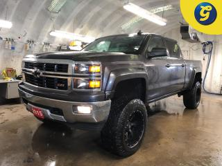 Used 2015 Chevrolet Silverado 1500 Crew Cab * Leather interior *  Sprayed in bed liner * Z71 Package * 6 Inch lift kit * 20 Inch FUEL rims * 35 Inch Goodyear wrangler tires * for sale in Cambridge, ON