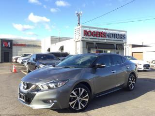 Used 2016 Nissan Maxima SL - NAVI - PANO ROOF - 360 CAMERA for sale in Oakville, ON