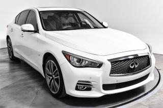 Used 2015 Infiniti Q50 LIMITED AWD CUIR TOIT MAGS 19P NAV for sale in Île-Perrot, QC