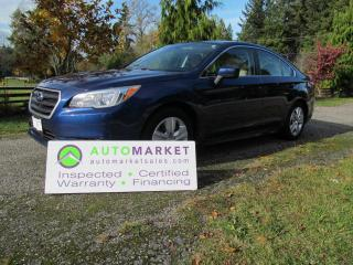 Used 2015 Subaru Legacy AWD, B/TOOTH, AUTO, INSP, WARR, BCAA MBSHP, FINANCING! for sale in Surrey, BC
