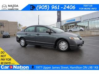 Used 2010 Honda Civic DX-G | 6 SPEED | CRUISE CONTROL | AUX INPUT for sale in Hamilton, ON
