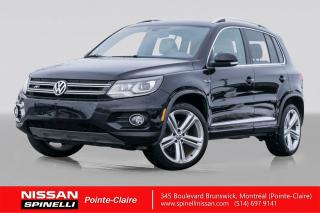 Used 2013 Volkswagen Tiguan R-LINE NAVIGATION / R-LINE SPORT / AWD / TOIT PANORAMIQUE / CUIR for sale in Montréal, QC