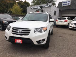 Used 2012 Hyundai Santa Fe AWD 4dr V6 Auto Limited for sale in Brampton, ON