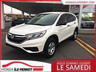 Used 2015 Honda CR-V 2 RM , LX, JAMAIS ACCIDENTÉ , UN SEUL PR for sale in Île-Perrot, QC
