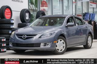 Used 2009 Mazda MAZDA6 GT *VÉHICULE VENDU TEL QUEL* AIR CLIMATISÉ! CUIR! BLUETOOTH! TOIT OUVRANT! UN PROPRIÉTAIRE! SUPER PRIX! for sale in Lachine, QC