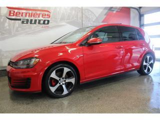 Used 2016 Volkswagen Golf GTI Autobahn Toit+GPS DSG for sale in Lévis, QC
