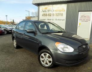 Used 2011 Hyundai Accent ***L,1PROPRIO,BAS KILOMETRAGE,CLEAN CARP for sale in Longueuil, QC