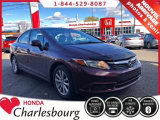Used 2012 Honda Civic EX**AUTOMATIQUE**TOIT OUVRANT** for sale in Charlesbourg, QC