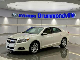 Used 2013 Chevrolet Malibu LT + 72 121KM !! CUIR + MAGS + A/C + WOW for sale in Drummondville, QC