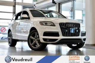Used 2015 Audi Q7 Q7 3.0T Sport * NAV * 20 POUCES for sale in Vaudreuil-Dorion, QC