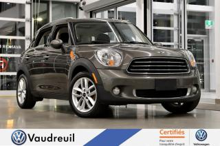 Used 2012 MINI Cooper Countryman Traction avant * TOIT PANO * CUIR for sale in Vaudreuil-Dorion, QC