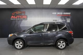 Used 2016 Subaru Forester 2.5i AWD CONVENIENCE CVT CAMERA BLUETOOTH 87 255 for sale in Lévis, QC
