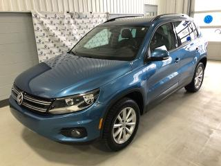 Used 2017 Volkswagen Tiguan Wolfsburg 4motion for sale in Chicoutimi, QC