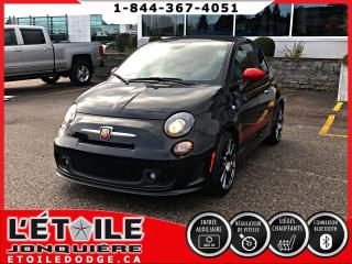 Used 2015 Fiat 500 C 500C ABARTH, TOIT DECAPOTABLE, SIEGES CH for sale in Jonquière, QC