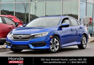 Used 2018 Honda Civic LX AUTO BAS KM AUTO BAS KM AC CRUISE BLUETOOTH for sale in Lachine, QC