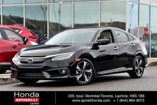 Used 2016 Honda Civic Touring TRES BAS KM NAVI CUIR TOIT MAGS for sale in Lachine, QC