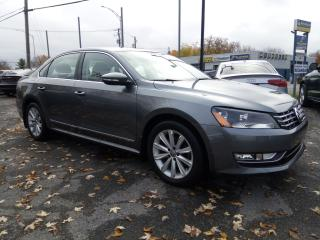 Used 2012 Volkswagen Passat TDI Highline **46,000KM** CUIR / SUEDE AUTOMATIQUE for sale in St-Eustache, QC