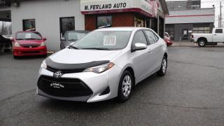 Used 2018 Toyota Corolla CE for sale in Sherbrooke, QC