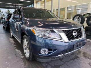 Used 2013 Nissan Pathfinder Platinum 4WD, ACCIDENT FREE, SUNROOF, POWER HEATED/VENTED LEATHER SEATS, NAVI, DVD ENTERTAINMENT SYSTEM for sale in Edmonton, AB