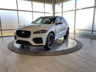 New 2020 Jaguar F-PACE SVR - 550HP for sale in Edmonton, AB