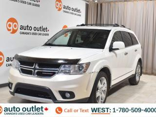 Used 2014 Dodge Journey R/T, 3.6L V6, Awd, Third row seat 7 passenger seating, Navigation, Heated leather seats, Heated steering wheel, Backup camera, Sunroof, Bluetooth for sale in Edmonton, AB
