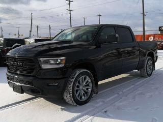 New 2019 RAM 1500 Sport 4x4 Crew Cab / Panoramic Sunroof / GPS Navigation for sale in Edmonton, AB