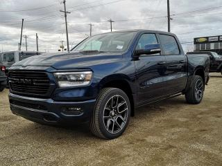 New 2020 RAM 1500 Sport 4x4 Crew Cab / Back Up Camera for sale in Edmonton, AB