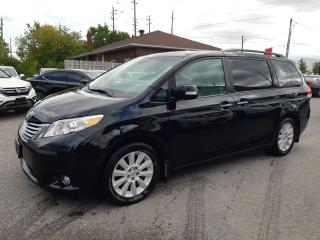 Used 2013 Toyota Sienna LIMITE, AWD, DVD, ACCIDENT FREE, FULLY LOAD for sale in Ottawa, ON