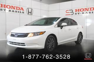 Used 2012 Honda Civic LX for sale in St-Basile-le-Grand, QC