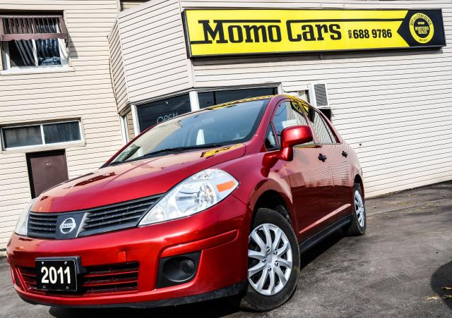 2011 Nissan Versa CLEAN CARFAX | COMPACT | GREAT GAS MILEAGE