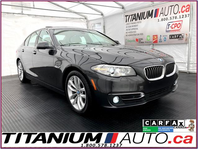 2016 BMW 5 Series xDrive+360 Camera+Cooled Seats+HUD+Blind Spot+GPS+