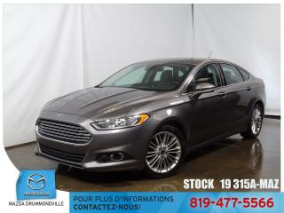 Used 2014 Ford Fusion SE|ECOBOOST|CUIR|SIEGCHAUF|MAG|CAMERA| for sale in Drummondville, QC