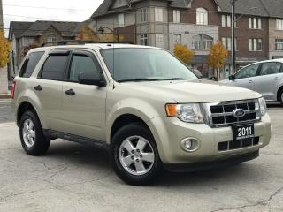 Used 2011 Ford Escape XLT Alloys wheels Low Mileage Cerified for sale in Burlington, ON