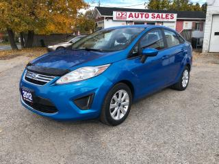 Used 2012 Ford Fiesta Comes Certifed/Heated Seats/Bluetooth/Gas Saver for sale in Scarborough, ON