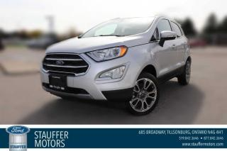 New 2020 Ford EcoSport Titanium for sale in Tillsonburg, ON