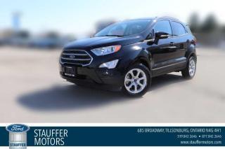New 2020 Ford EcoSport SE for sale in Tillsonburg, ON