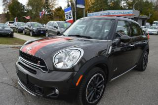 Used 2015 MINI Cooper Countryman MINI COUNTRYMAN S ALL4, ALL WHEEL DRIVE,AUTOMATIC for sale in Richmond Hill, ON