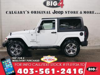 Used 2016 Jeep Wrangler Sahara for sale in Calgary, AB