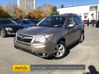 Used 2014 Subaru Forester 2.5i Touring Package AUTO  PANO ROOF  ALLOYS  BACK for sale in Ottawa, ON