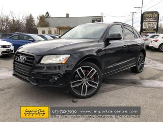 Used 2017 Audi SQ5 3.0T Dynamic Edition LEATHER  PANO ROOF  NAVI  BLI for sale in Ottawa, ON