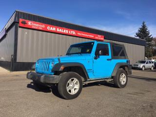 Used 2017 Jeep Wrangler JK Sport 4X4 for sale in Edmonton, AB