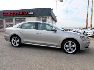 Used 2012 Volkswagen Passat 2.5L SEL NAVIGATION AUTO CERTIFIED 2YR WARRANTY for sale in Milton, ON