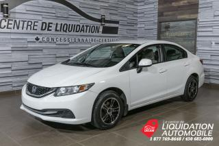 Used 2013 Honda Civic LX for sale in Laval, QC