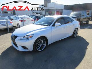 Used 2014 Lexus IS 250 4DR SDN AWD for sale in Beauport, QC