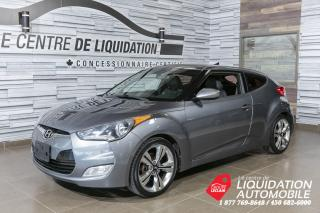 Used 2013 Hyundai Veloster Tech+toit+mags+gps for sale in Laval, QC
