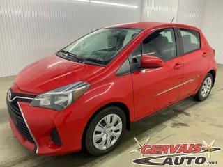 Used 2015 Toyota Yaris LE A/C Automatique for sale in Trois-Rivières, QC