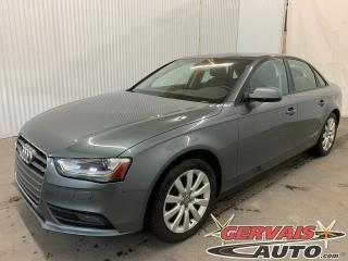 Used 2014 Audi A4 Komfort Quattro Cuir Toit Ouvrant MAGS for sale in Shawinigan, QC